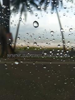 hujan di portdickson
