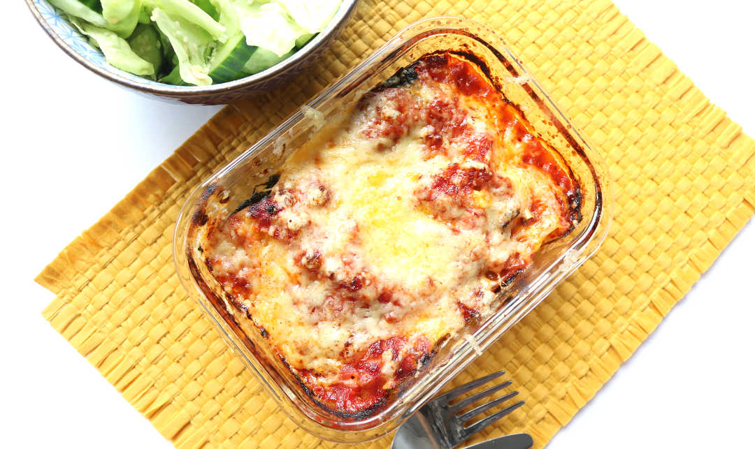 Homemade Spinach & Ricotta Cannelloni (Vegetarian recipe) #WorldPastaDay