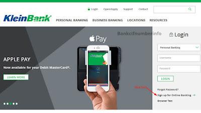 Klein Bank Online Banking Login