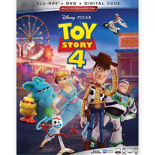 TOY STORY 4 Blu-ray box art