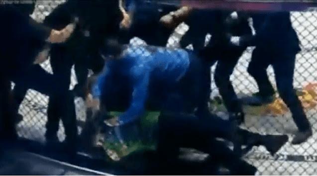 Mengerikan Video detik-detik atlet MMA hina Islam, kelar duel langsung dibantai abis-abisan sampai geletak