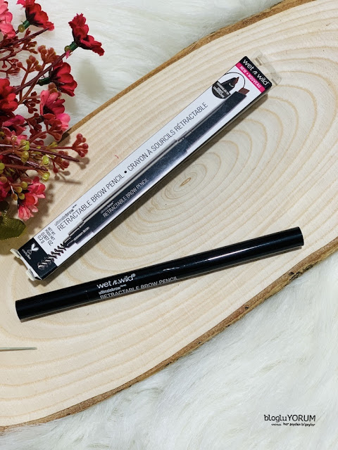 wet n wild ultimate retractable brow pencil kaş kalemi incelemesi