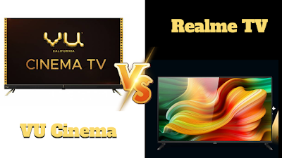 cinema tv vs realme tv