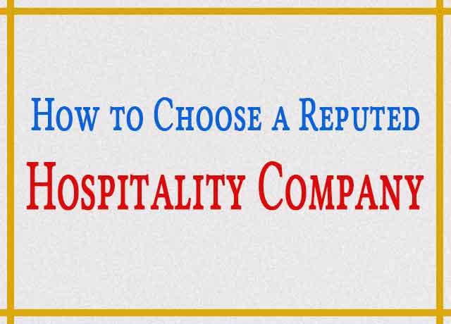 Hospitality Company