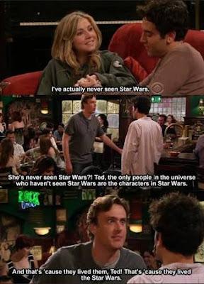 How i meet your mother , Como eu conheci sua mãe, Star Wars,Meme