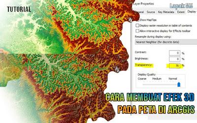 Cara Membuat Efek 3D pada Peta di Arcgis