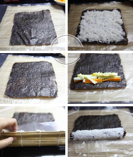Resep Upside Down Sushi dengan Abon JTT