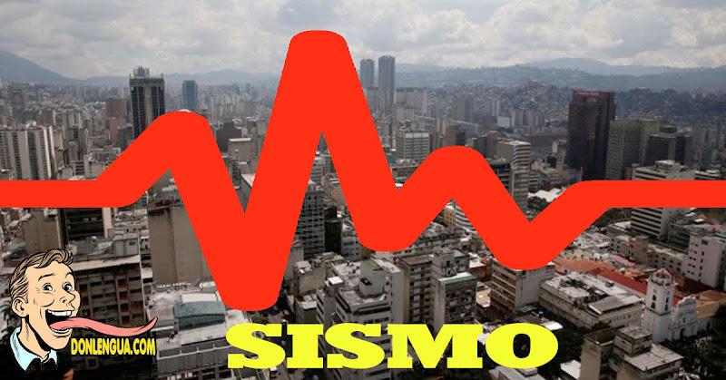 Fuerte sismo de 5.2 en Caracas no  dejó muertos ni derrumbes hasta el momento