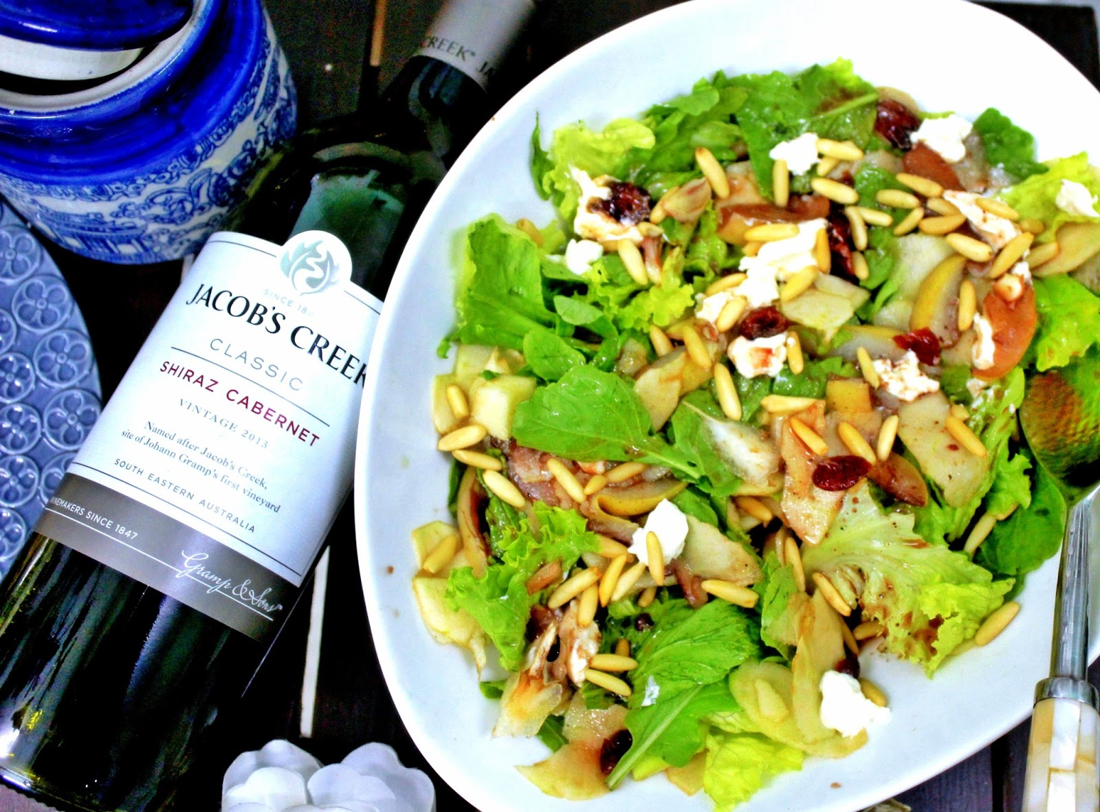 Pear and Apple salad recipe