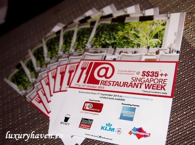 dining city, american express, singapore restaurant week