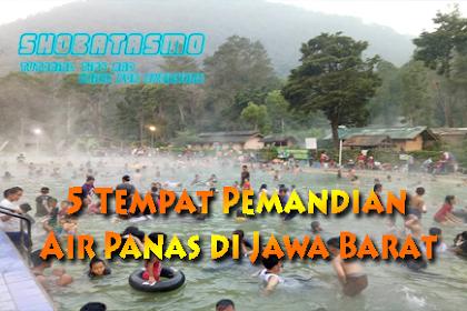 5 Tempat Pemandian Air Panas Terpopuler di Jawa Barat