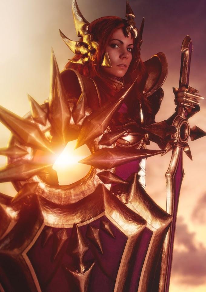 Cinderys con su cosplay de Leona