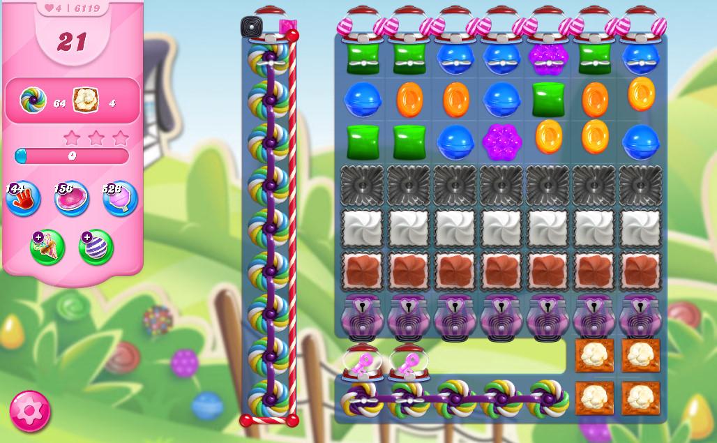 Candy Crush Saga level 6119