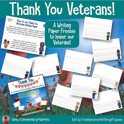 https://www.teacherspayteachers.com/Product/Thank-you-Veterans-Writing-Paper-Freebie-166059?utm_source=November%20blog%20post&utm_campaign=Thank%20You%20Veterans
