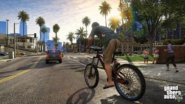Grand Theft Auto V Maps and Bicycle