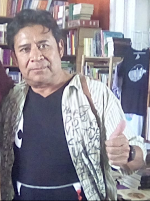 Poeta Boris Enrique Alcántara Peña