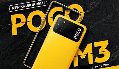 Siap-siap, POCO M3 Akan Rilis di Indonesia Pada 21 Januari