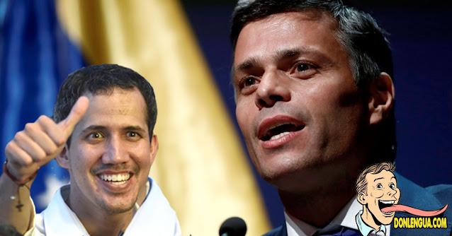 Leopoldo dic que Guaidó será el Presidente Interino hasta que haya una elección libre
