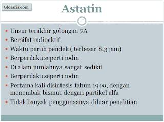 Mengenal Astatin, Unsur Radioaktif Golongan Halogen