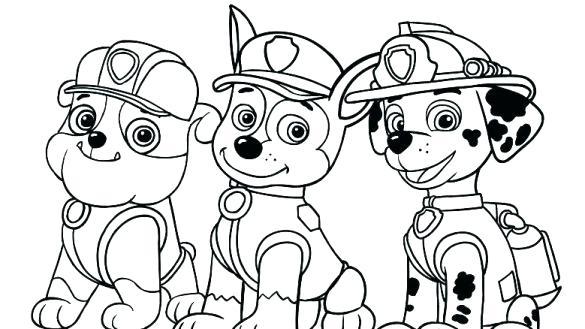 Paw Patrol Ausmalbilder Paw Patrol