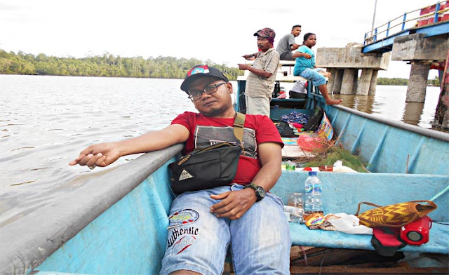 Mancing di Portsite (Pelabuhan Area PT Freeport Indonesia)