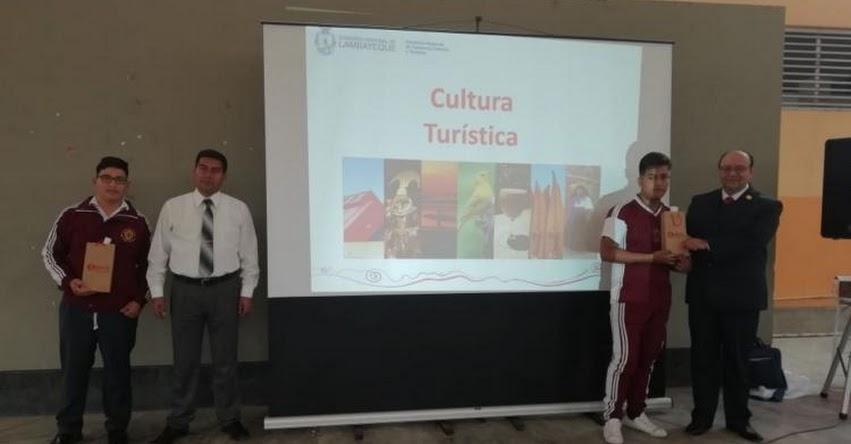 Escolares de Lambayeque fortalecen identidad y protección del patrimonio