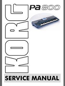 Korg pa800 service manual korg pa paradise.