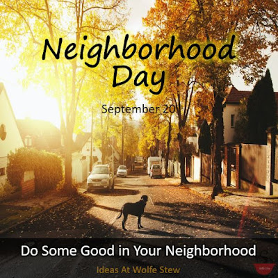 Reflections on neighborhoods