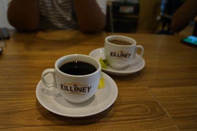 Kopi Hitam atau Kopi Susu Killiney Pontianak