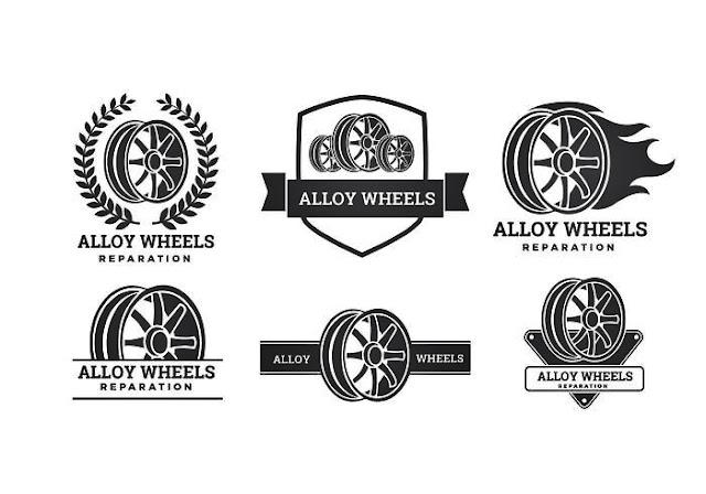 Desain gambar stiker roda balap