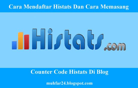 Cara Mendaftar Histats Dan Cara Memasang Counter Code