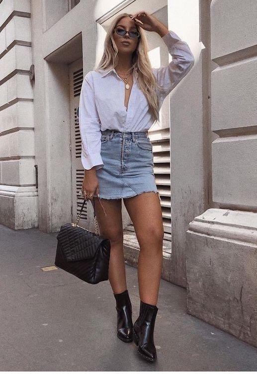 Como usar camisa branca nos looks de verão