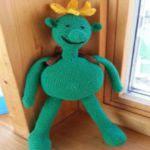 patron gratis muñeco planta amigurumi