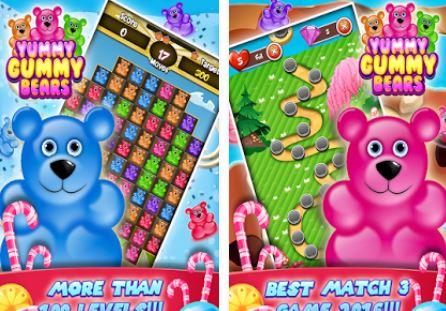 HIGHTECHHOLIC: Android Game of the Month - Gummy Jummy Bears