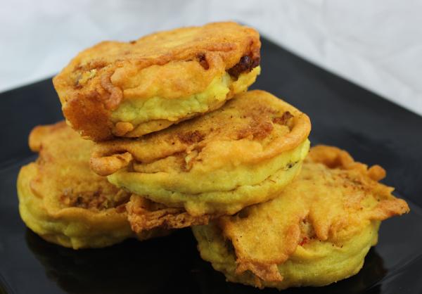 Savory Indian Potato Patties