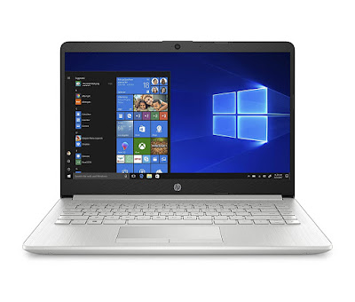 HP 14 10th Gen Intel Core i3 14-inch FHD Laptop (8 GB, 1 TB HDD + 256 GB SSD, Windows 10 Home, MS Office, Natural Silver, 1.51 kg), 14s-cf3028TU