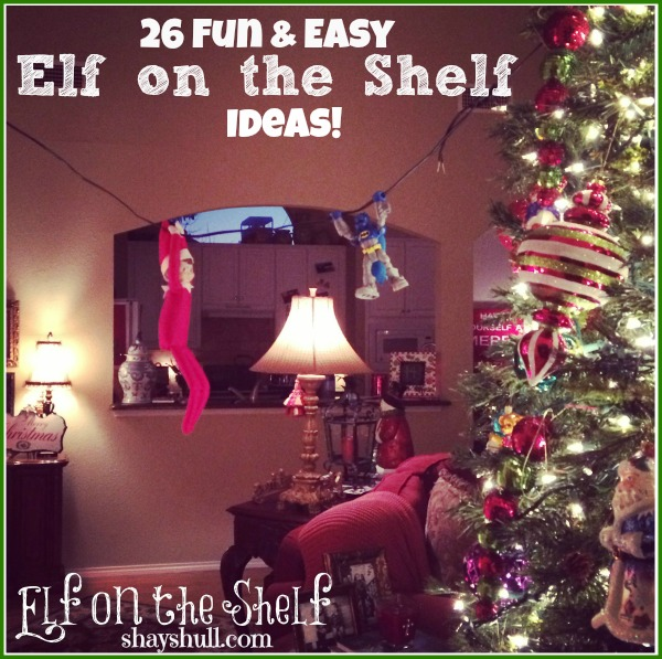 If you need more Elf inspiration this year check our our Elf on the Shelf Calendar which will help you with a new idea for every night! Also be sure to like our Facebook page because we share lots of elf goodies, ideas and free printables all season long!