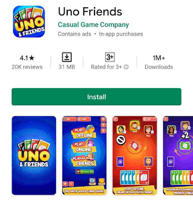 6. UNO Friends