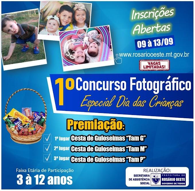 Concurso Fotográfico da Prefeitura vai dar prêmios para crianças