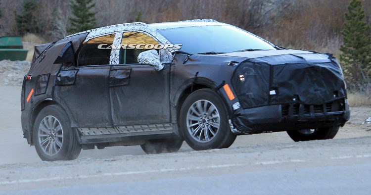 New Cadillac XT5 is SRXs Mid-Size SUV Successor