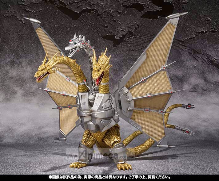 FIGURA MECHA KING GHIDORAH S.H.MonsterArts