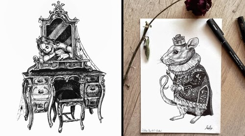00-Dream-and-Nightmare-Drawings-Maria-Riga-www-designstack-co