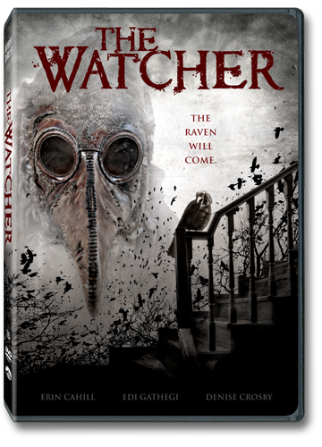 The Watcher DVD box art
