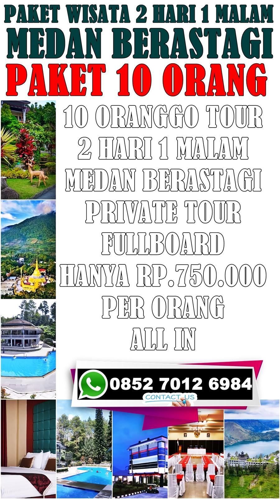 Promo Paket Tour Medan Berastagi