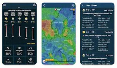 Aplikasi Ramalan Cuaca - Weather forecast