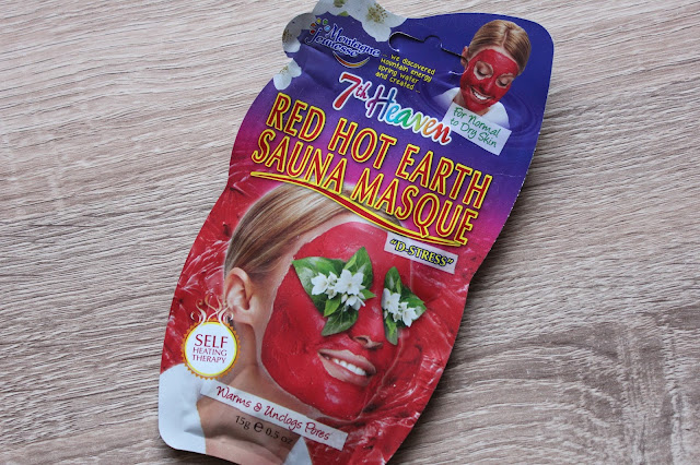 7th heaven red hot earth sauna masque