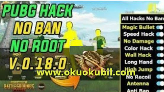 Pubg Mobile 0.18.0 Ban Yok Brutal Aımbot, Esp, Antiban Hack İndir 2020