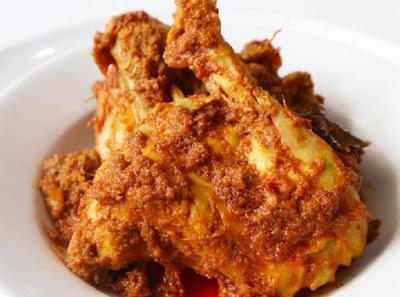 Resep Rendang Ayam Padang Mudah & Lezat