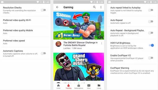 تحميل تطبيق اليوتيوب الأسود YouTube Vanced أخر اصدار 2021