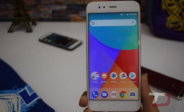 Mi A1 Official Android 8.0 Oreo Beta [Screenshots]